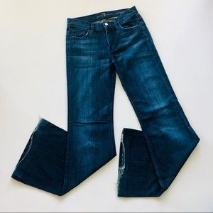 7 For All Mankind Ginger High Rise Flare